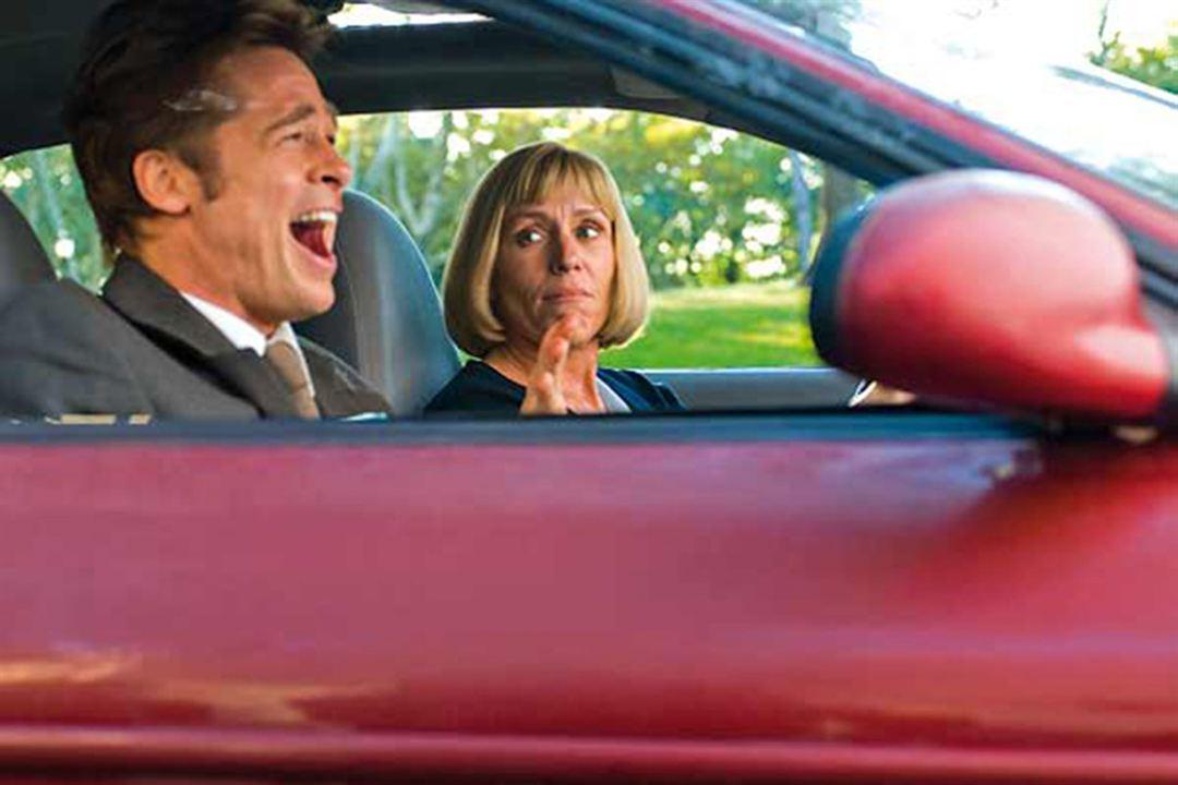 Quemar después de leer: Frances McDormand, Brad Pitt
