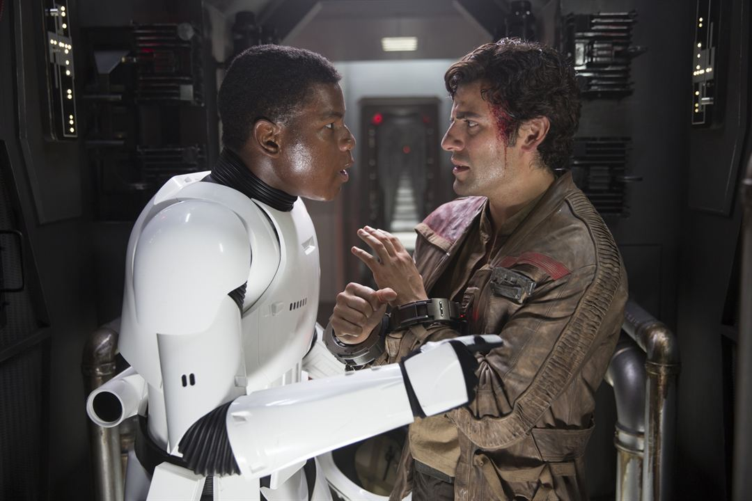 Star Wars: El despertar de la Fuerza : Foto John Boyega, Oscar Isaac