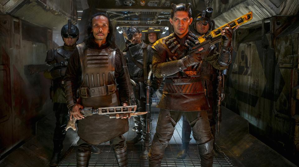 Star Wars: El despertar de la Fuerza: Iko Uwais, Yayan Ruhian