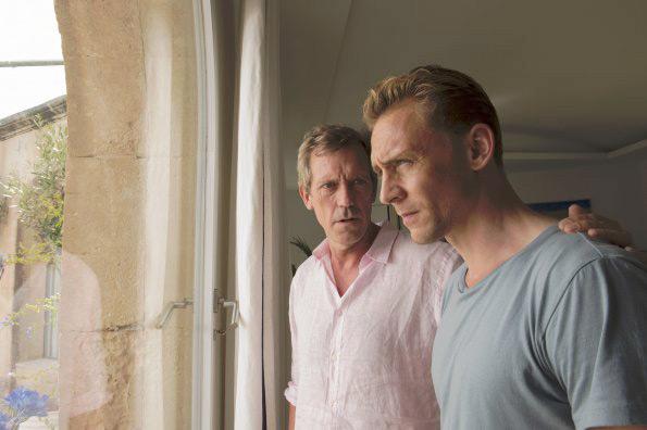 Foto Hugh Laurie, Tom Hiddleston