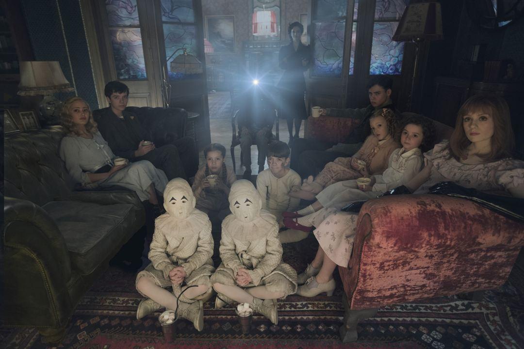 El hogar de Miss Peregrine para niños peculiares : Foto Asa Butterfield, Ella Purnell, Eva Green, Pixie Davies