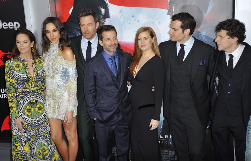 Batman v Superman: El amanecer de la justicia : Couverture magazine Amy Adams, Ben Affleck, Diane Lane, Gal Gadot, Henry Cavill