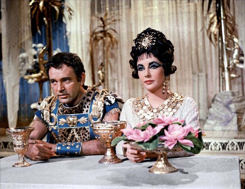 Cléopatra: Richard Burton, Elizabeth Taylor
