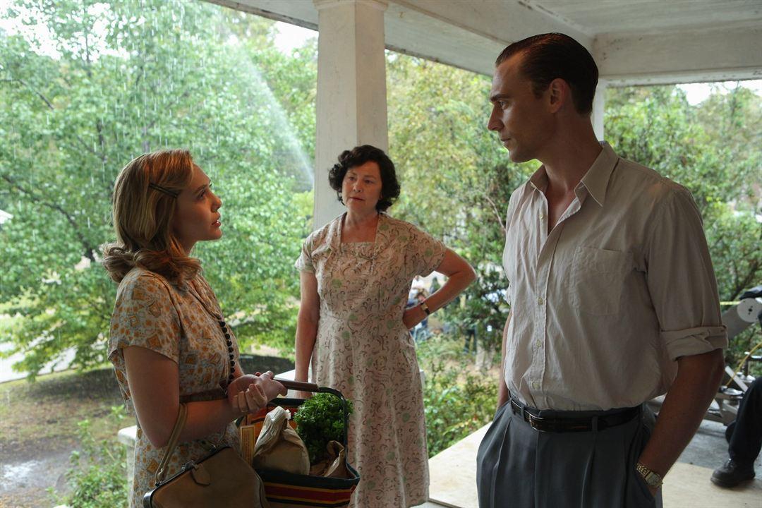 Hank Williams, una voz a la deriva : Foto Cherry Jones, Elizabeth Olsen, Tom Hiddleston