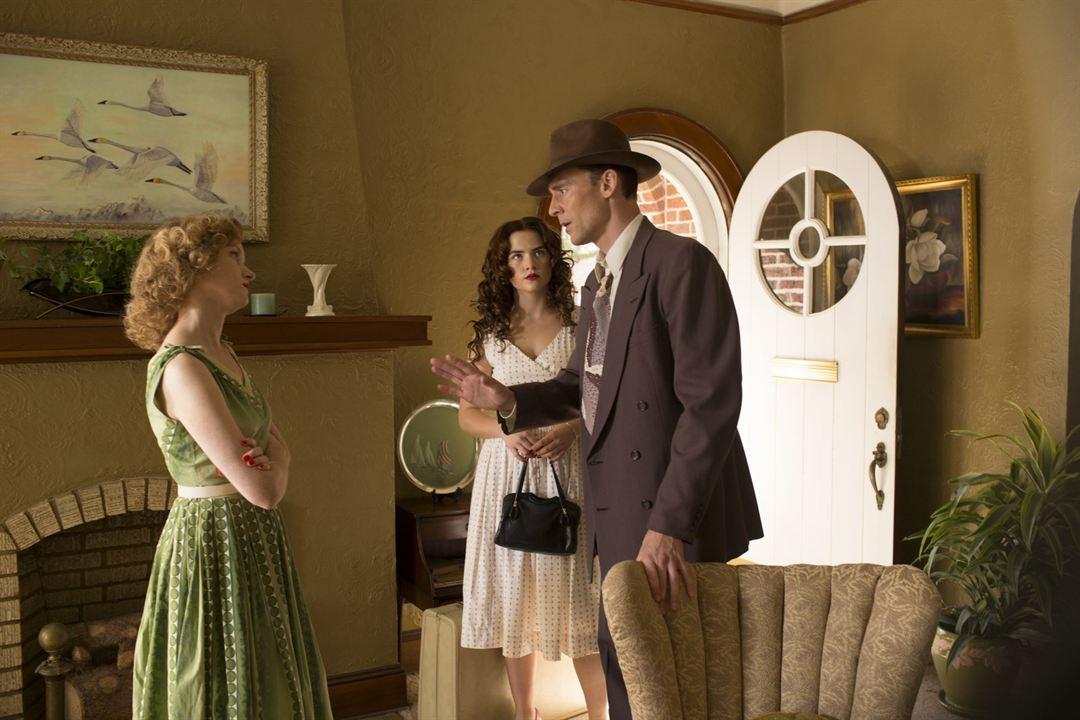 Hank Williams, una voz a la deriva : Foto Maddie Hasson, Tom Hiddleston, Wrenn Schmidt
