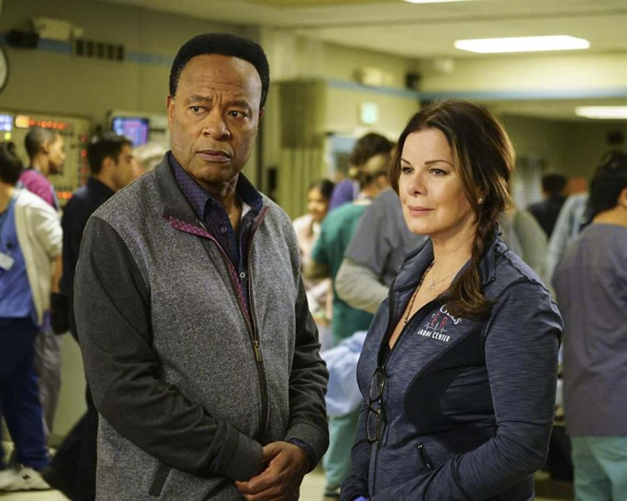 Foto Marcia Gay Harden, William Allen Young