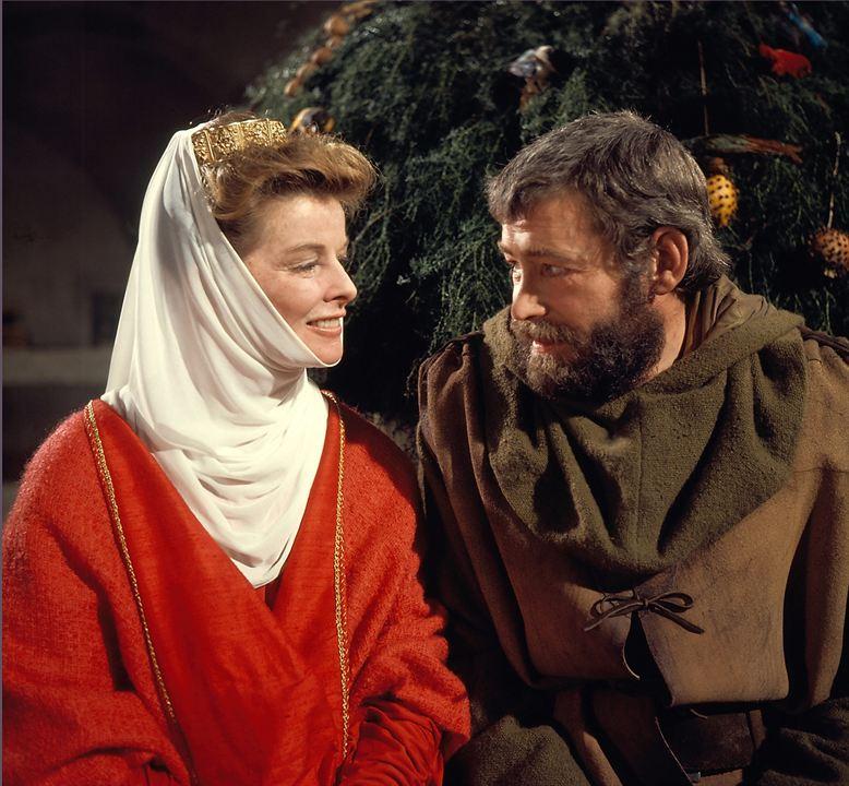 El león en invierno: Katharine Hepburn, Peter O'Toole