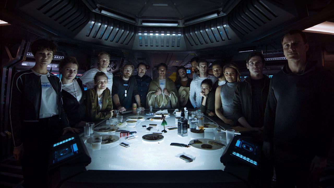 Alien: Covenant : Foto Billy Crudup, Callie Hernandez, Carmen Ejogo, Danny McBride, Demian Bichir