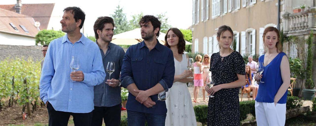 Nuestra vida en la Borgoña : Foto Ana Girardot, François Civil, Jean-Marc Roulot, María Valverde, Pio Marmai
