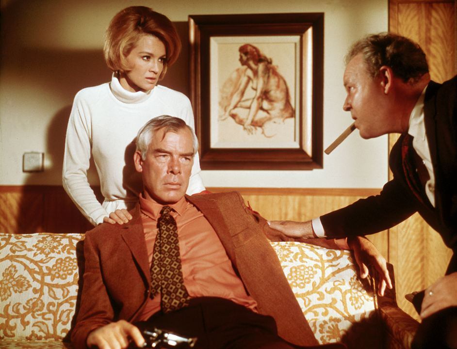 A quemarropa : Foto Angie Dickinson, Lee Marvin