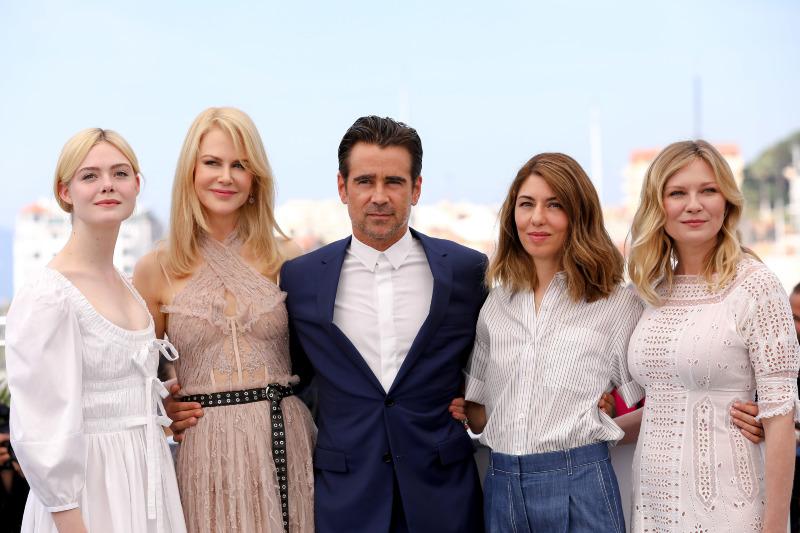 La seducción : Couverture magazine Colin Farrell, Elle Fanning, Kirsten Dunst, Nicole Kidman, Sofia Coppola
