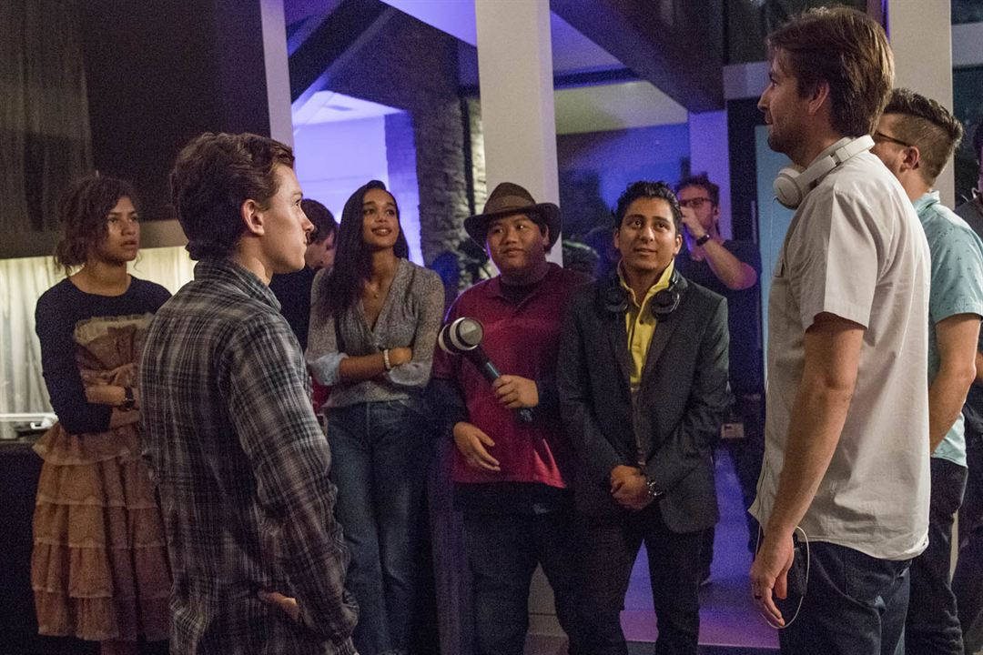 Spider-Man: Homecoming : Foto Jacob Batalon, Jon Watts, Laura Harrier, Tom Holland, Tony Revolori