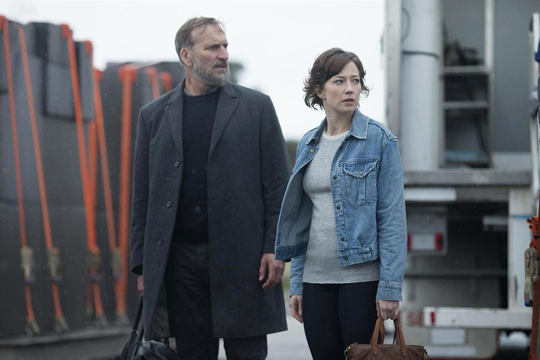 Foto Carrie Coon, Christopher Eccleston