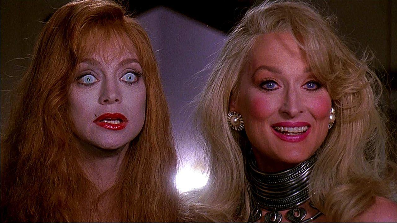La muerte os sienta tan bien: Goldie Hawn, Meryl Streep
