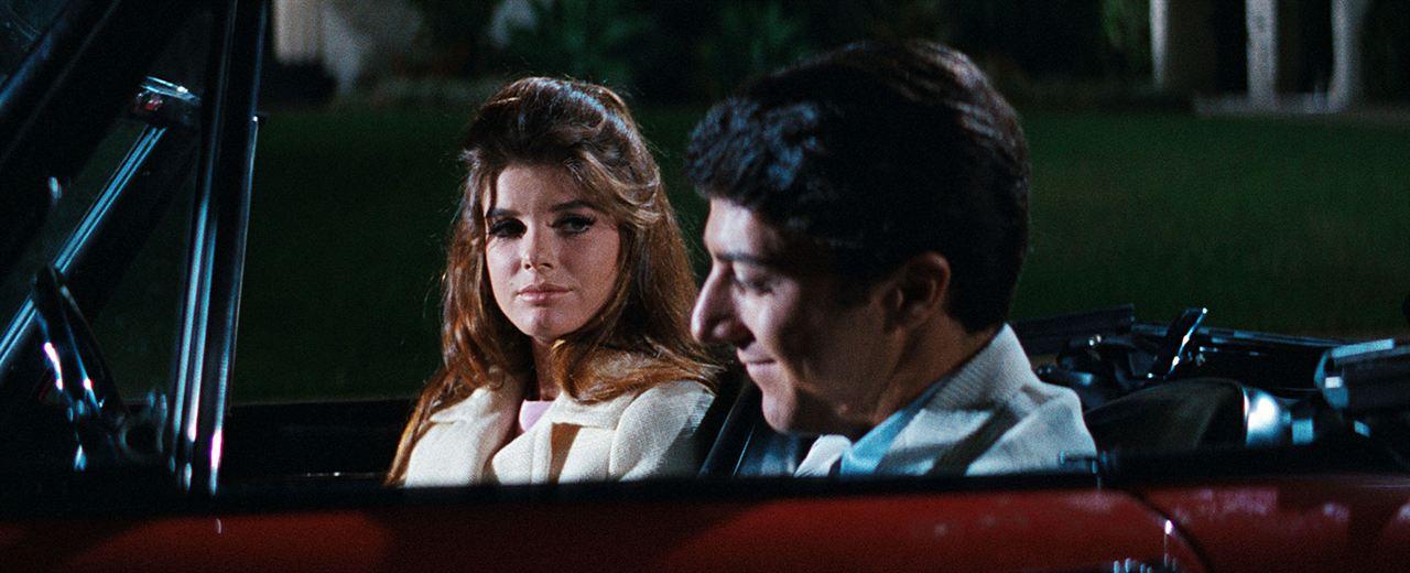 El Graduado : Foto Dustin Hoffman, Katharine Ross