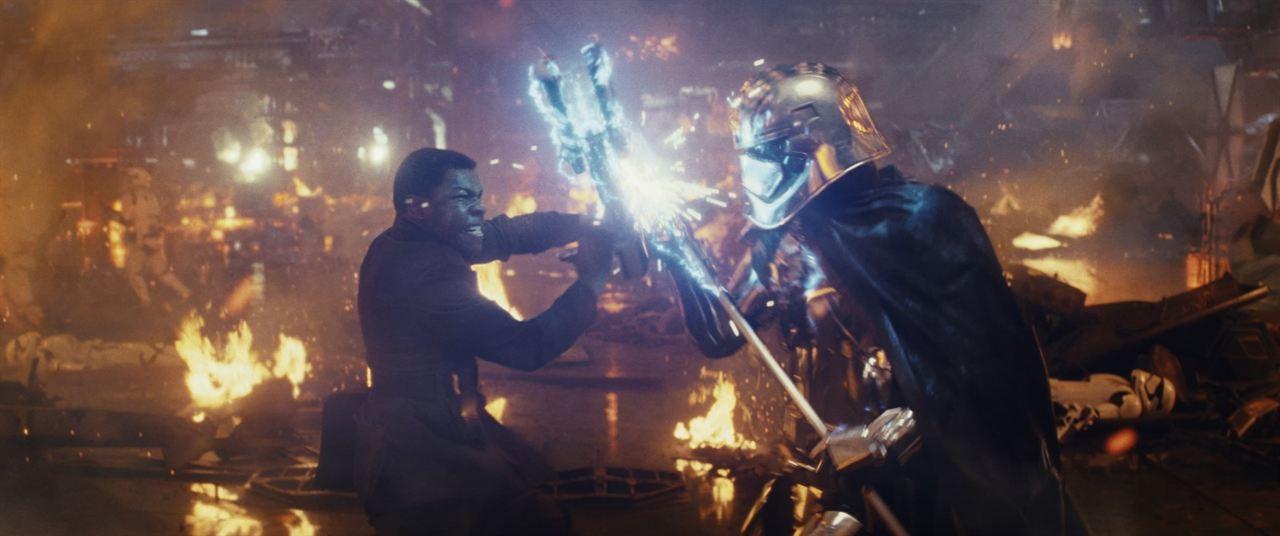 Star Wars: Los últimos Jedi: Gwendoline Christie, John Boyega