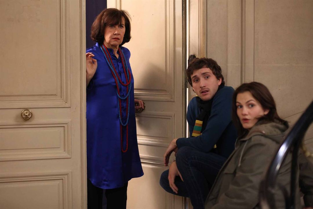Foto Anne Le Ny, Baptiste Lecaplain, Margot Bancilhon