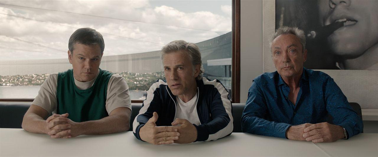 Una vida a lo grande: Matt Damon, Christoph Waltz, Udo Kier