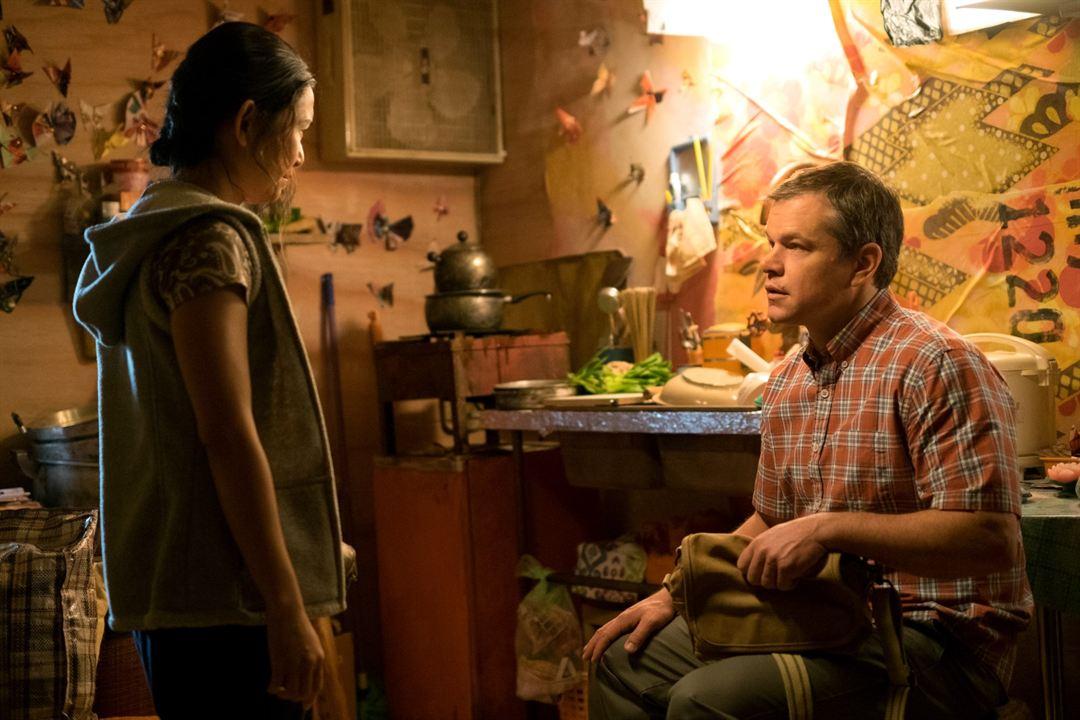 Una vida a lo grande: Matt Damon, Hong Chau