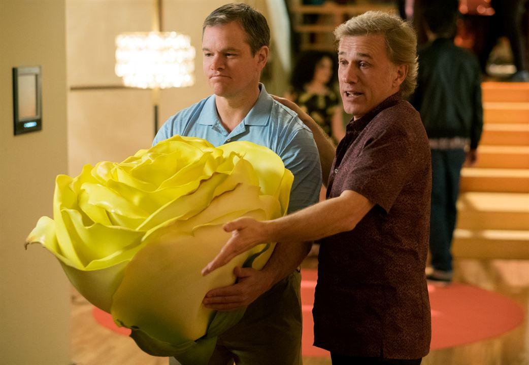 Una vida a lo grande: Matt Damon, Christoph Waltz