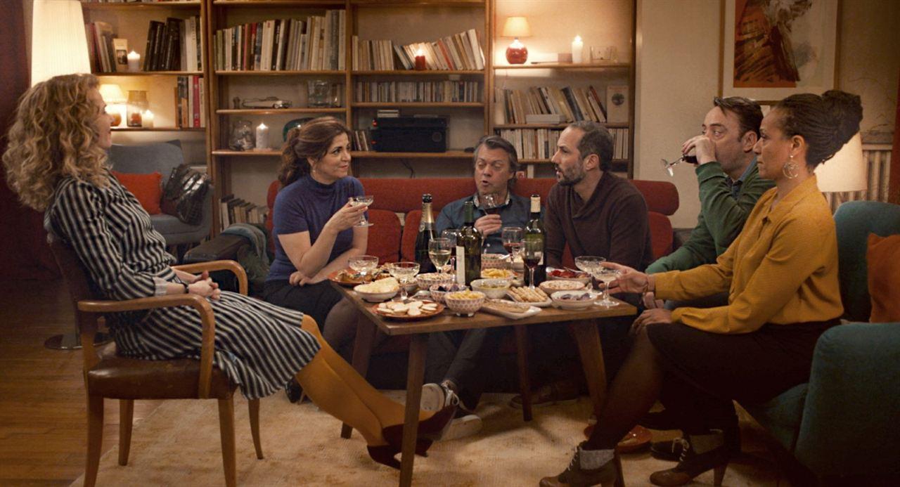 50 primaveras: Sébastien Lalanne, Eric Viellard, Agnès Jaoui, Pascale Arbillot