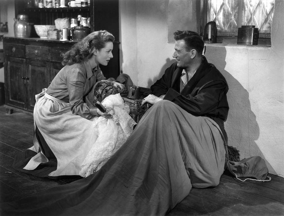 El hombre tranquilo : Foto John Wayne, Maureen O'Hara