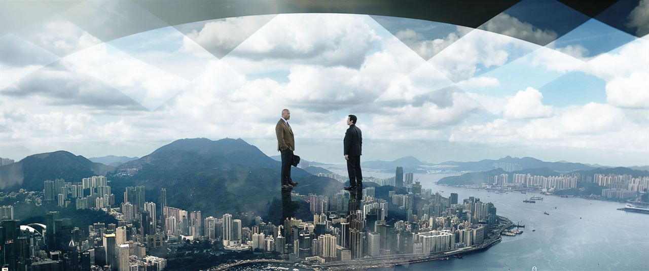 El rascacielos: Dwayne Johnson