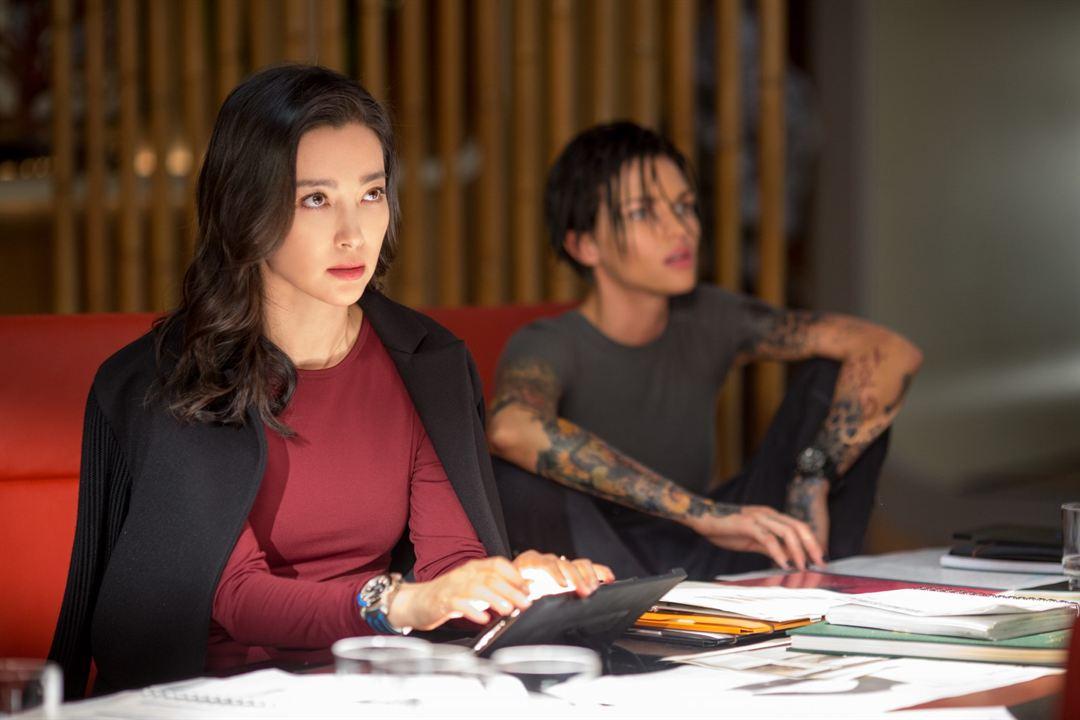 Megalodón: Bingbing Li, Ruby Rose
