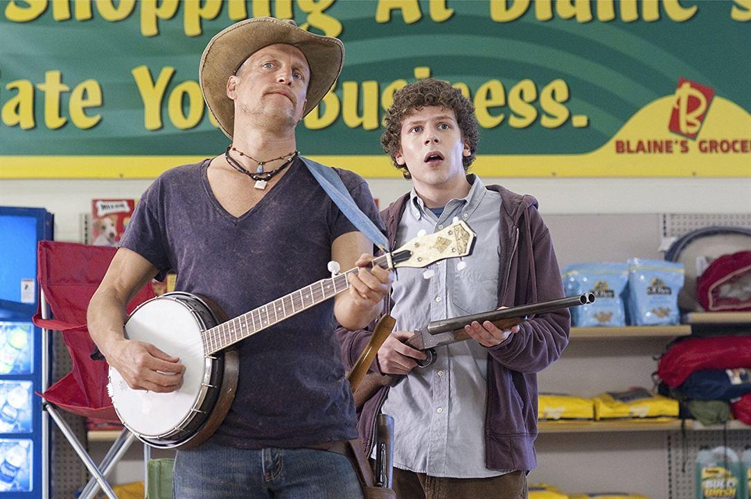 Bienvenidos a Zombieland: Jesse Eisenberg, Woody Harrelson