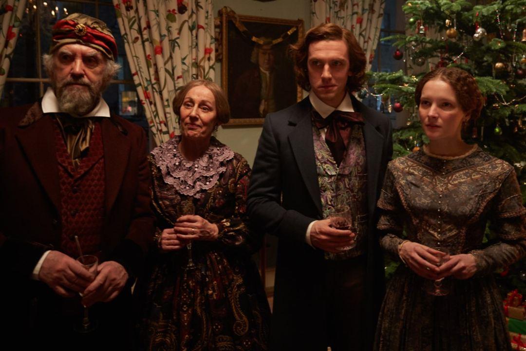 El hombre que inventó la Navidad: Dan Stevens, Ger Ryan, Morfydd Clark, Jonathan Pryce