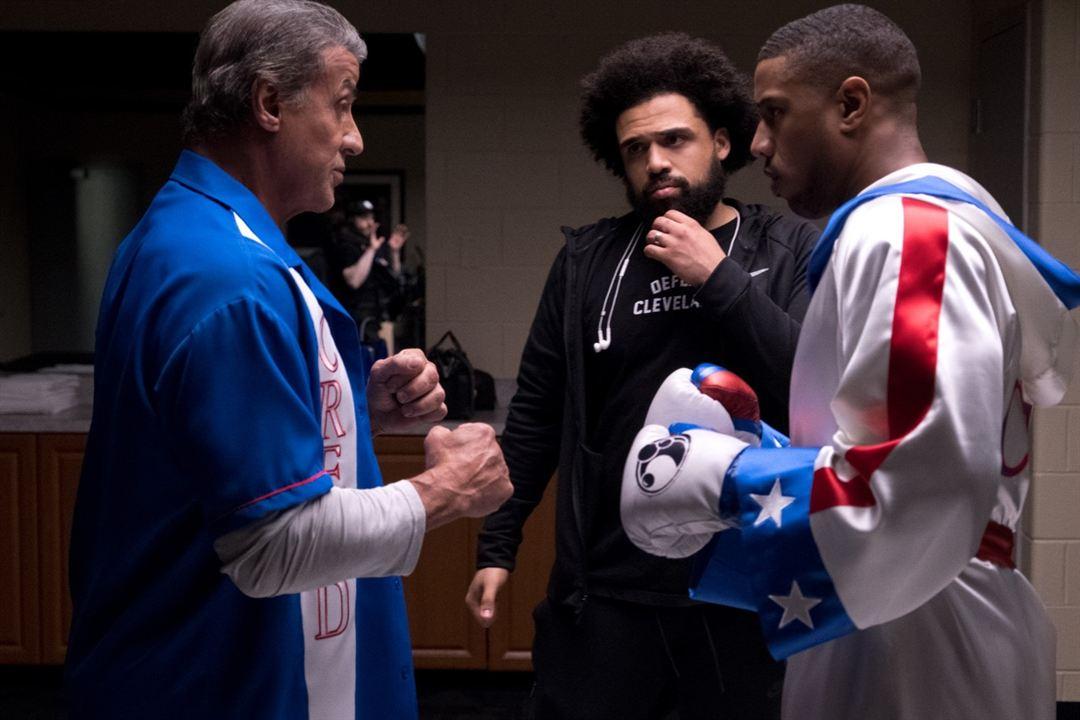 Creed II: La leyenda de Rocky : Foto Michael B. Jordan, Steven Caple Jr., Sylvester Stallone