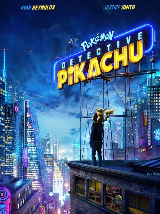 Resultado de imagen de poster detective pikachu