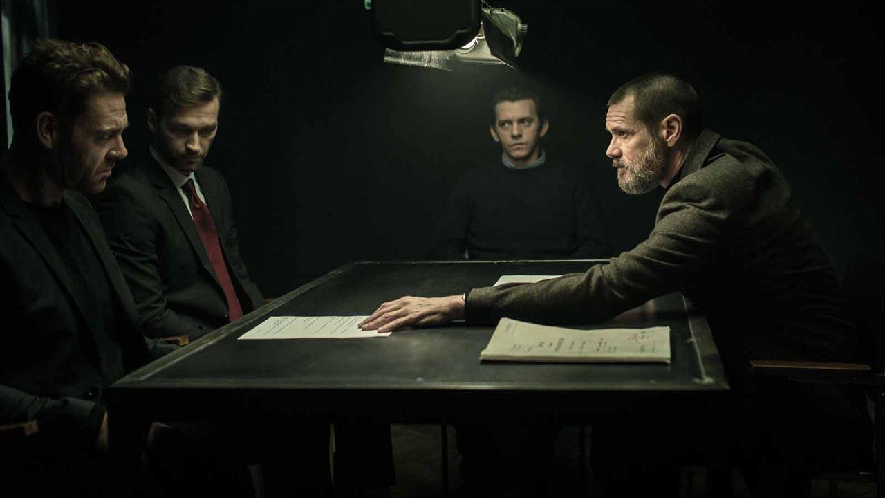 Dark Crimes: Jim Carrey, Piotr Glowacki, Marton Csokas