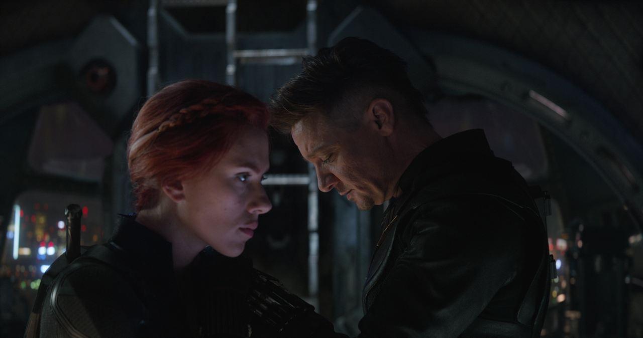 Vengadores: Endgame : Foto Jeremy Renner, Scarlett Johansson