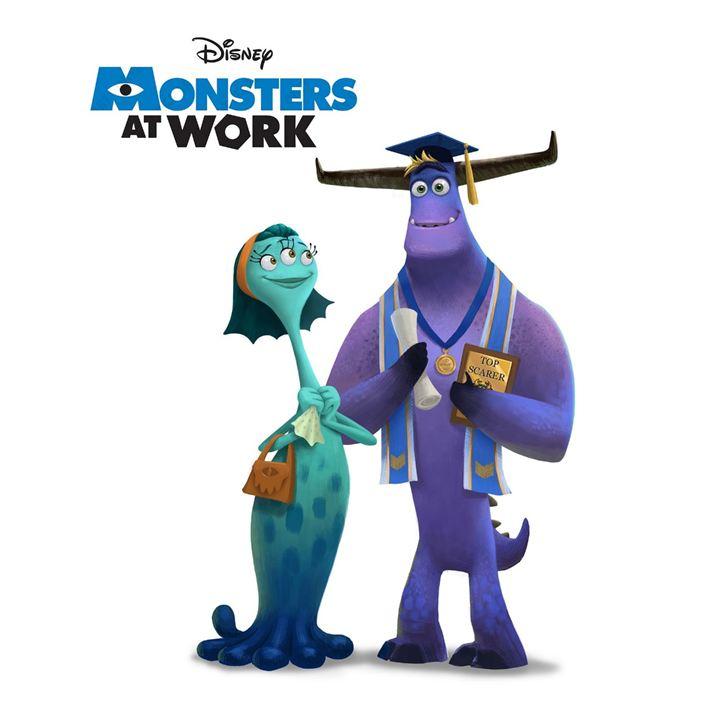 Monstruos a la obra : Cartel