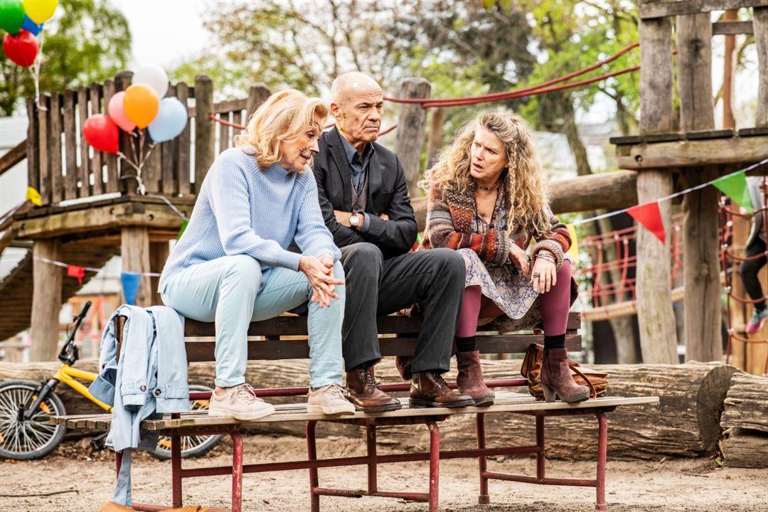 Foto Barbara Sukowa, Heiner Lauterbach, Maren Kroymann