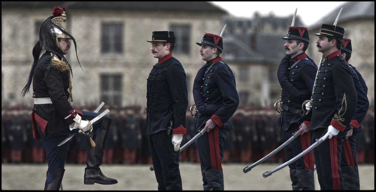 El oficial y el espía: Louis Garrel