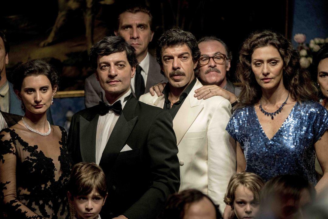 El traidor: Pierfrancesco Favino, Maria Fernanda Cândido, Fabrizio Ferracane