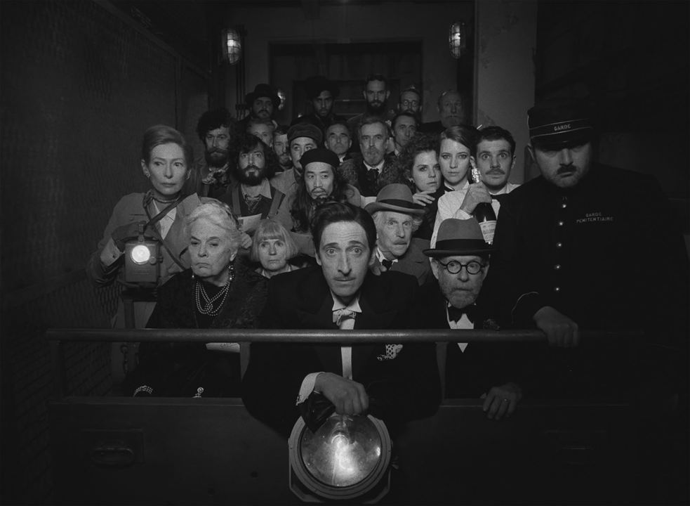 La Crónica Francesa (del Liberty, Kansas Evening Sun) : Foto Adrien Brody, Bob Balaban, Henry Winkler, Lois Smith, Tilda Swinton
