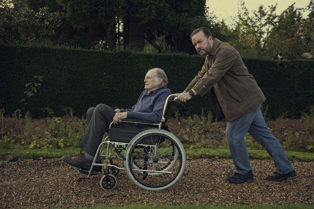 Foto David Bradley, Ricky Gervais