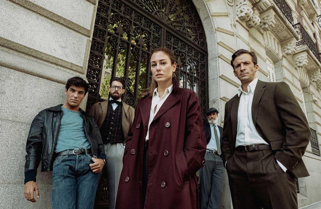 Foto Adrián Lastra, Blanca Suárez, Francesc Garrido, Iván Marcos, Oscar Casas
