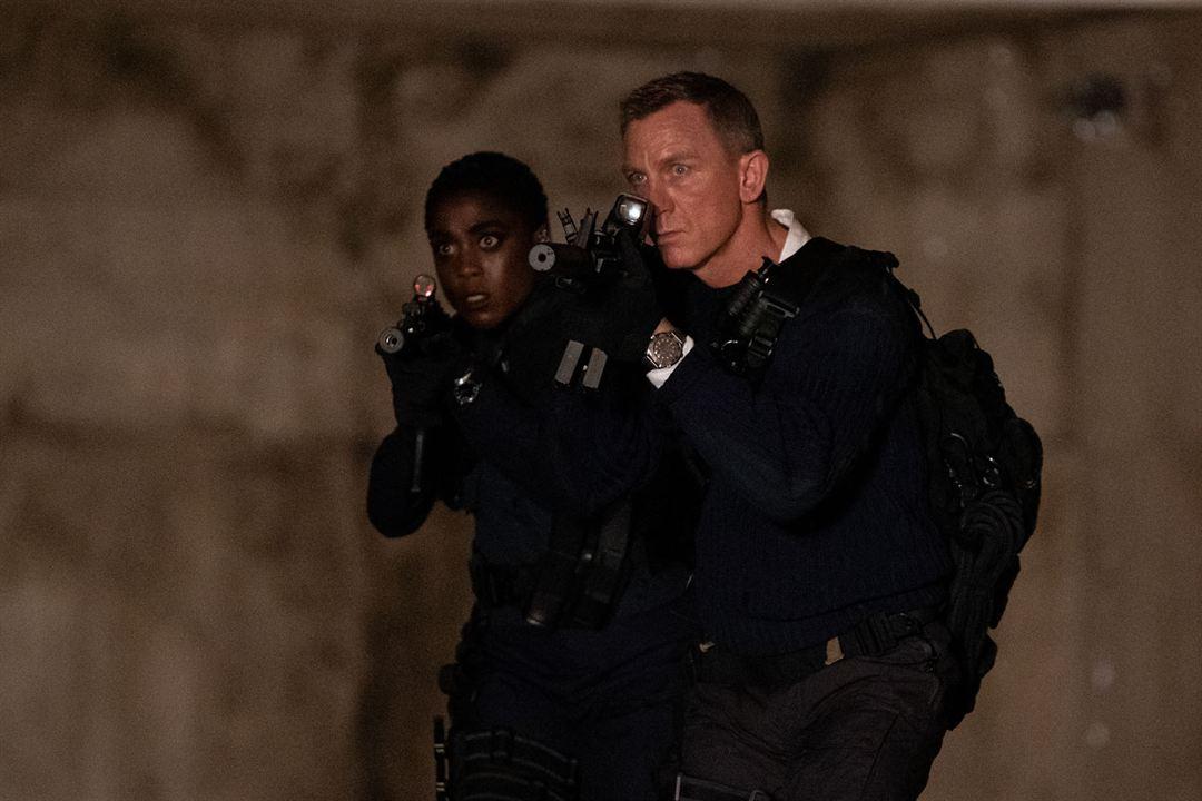 Sin tiempo para morir: Lashana Lynch, Daniel Craig