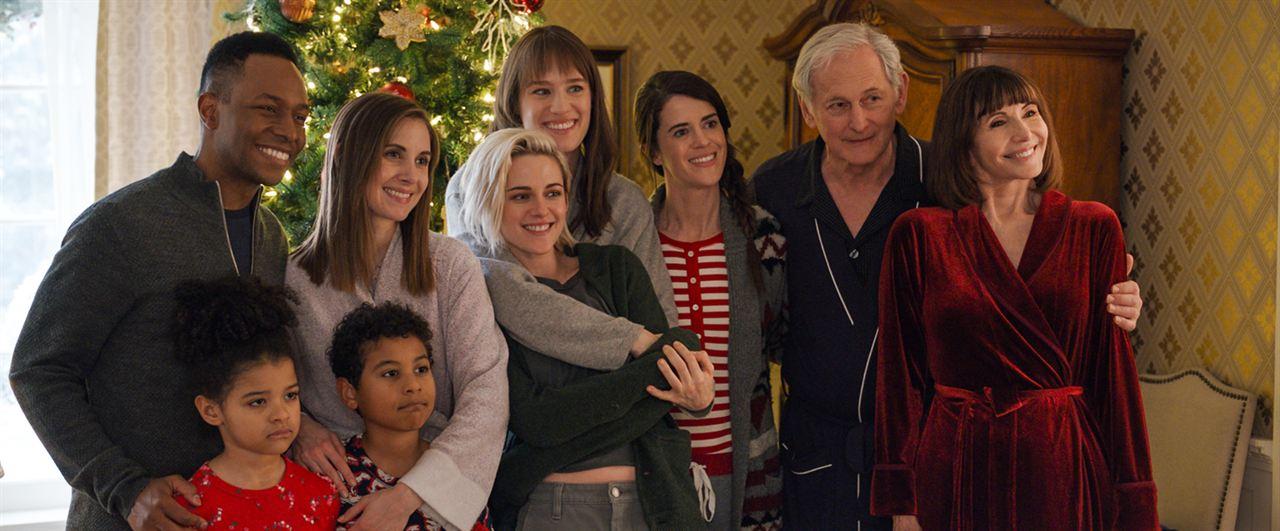 Happiest Season (La estación de la felicidad) : Foto Alison Brie, Burl Moseley, Kristen Stewart, Mackenzie Davis, Mary Holland