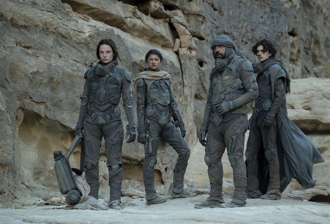 Dune: Timothée Chalamet, Javier Bardem, null Zendaya, Rebecca Ferguson