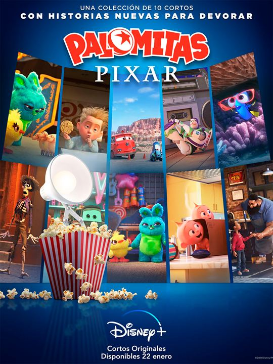 Palomitas Pixar : Cartel