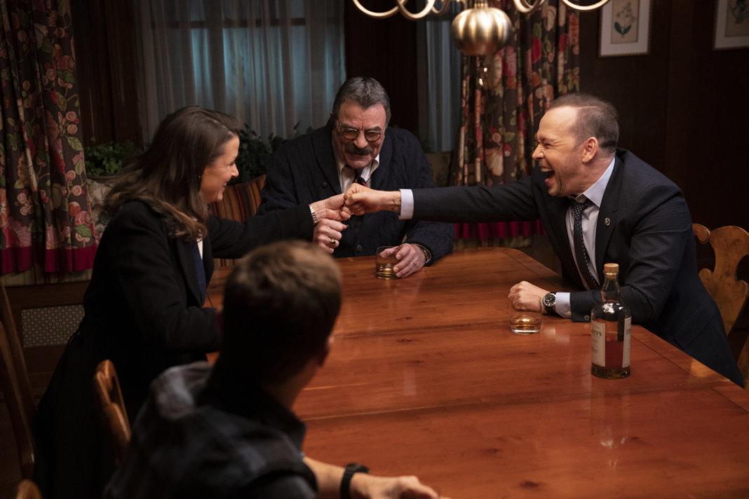 Foto Bridget Moynahan, Donnie Wahlberg, Tom Selleck