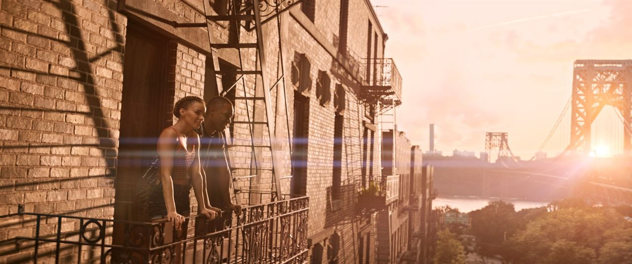 En un barrio de Nueva York: Corey Hawkins, Leslie Grace