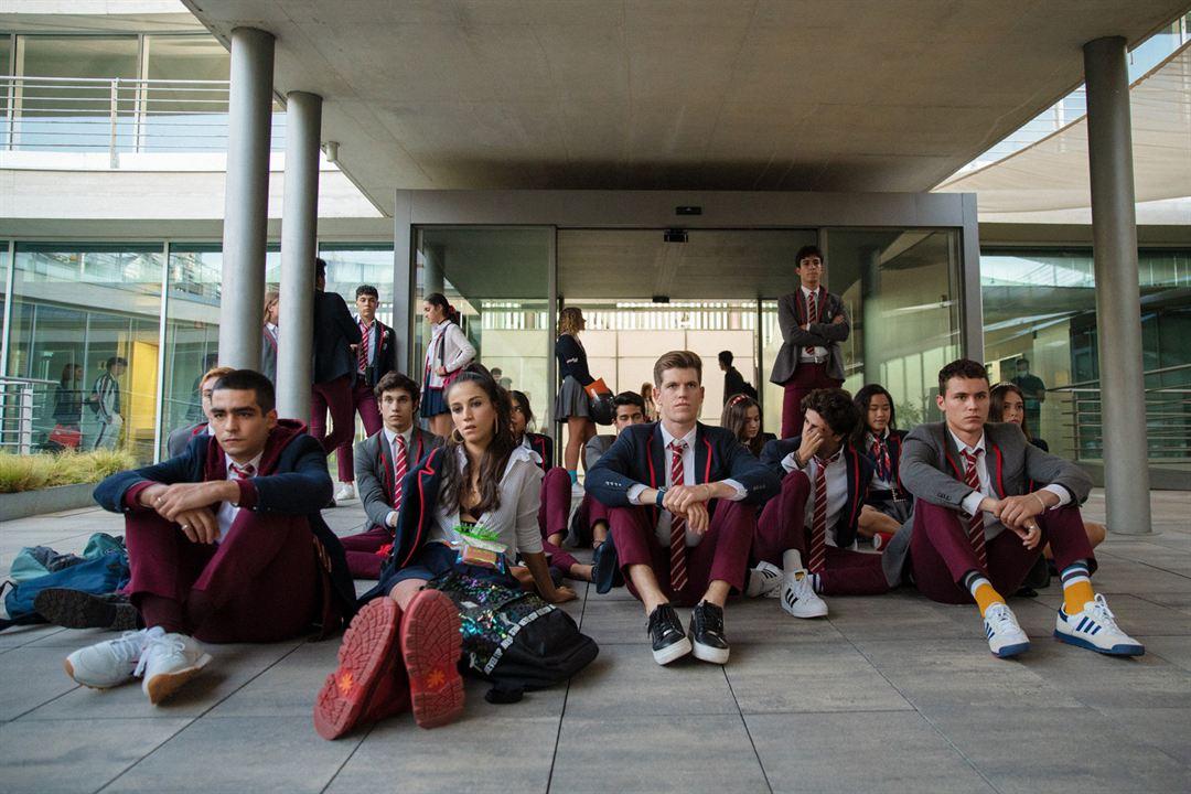 Foto Arón Piper, Claudia Salas, Miguel Bernardeau, Omar Ayuso