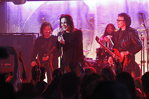 Foto Geezer Butler, Ozzy Osbourne, Tony Iommi