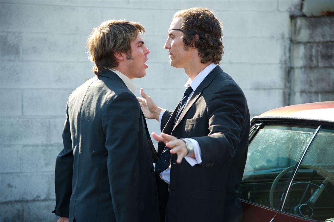 El chico del periódico: Matthew McConaughey, Zac Efron